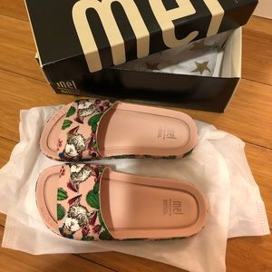 New Mini Melissa Beach Slide Sandal